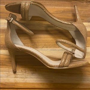 Kennth Cole || Mallory Ankle Strap Sandel Heel